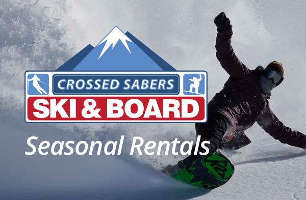 Crossed Sabers Ski and Snowbard Seasonal Rentals MA