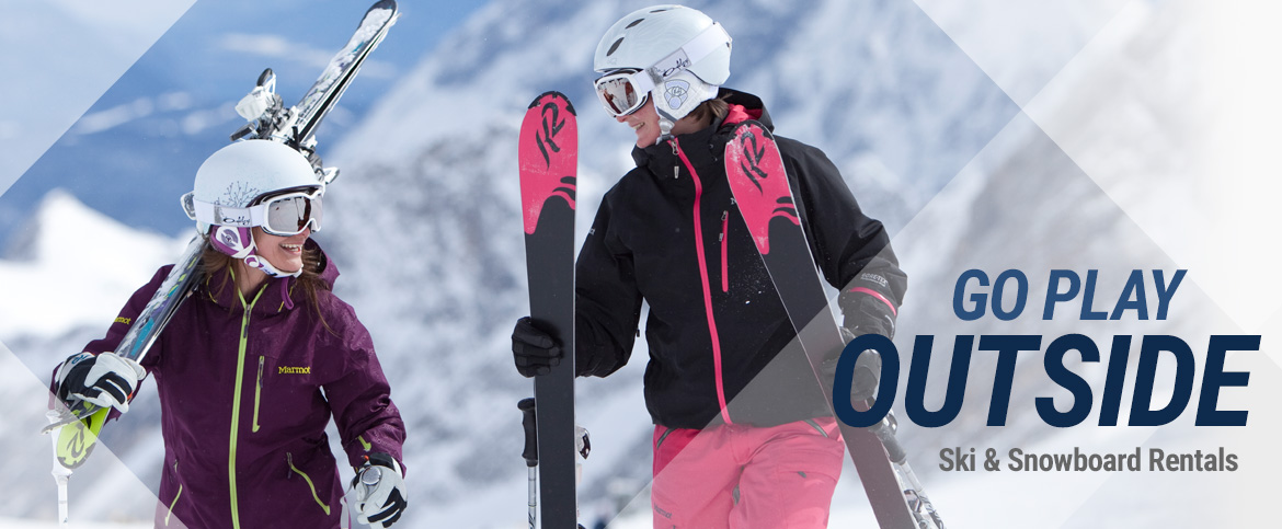 Ladies Ski and Snowboard Equipment