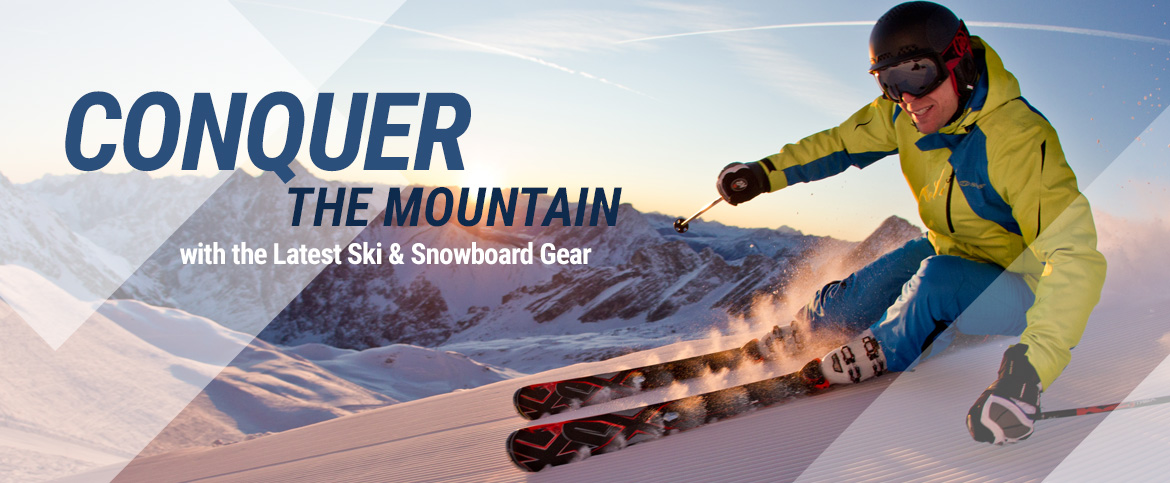 Latest Ski & Snowbord Gear and Equipment