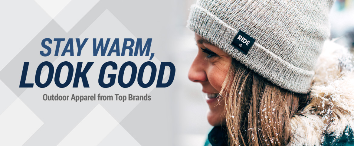 Men, Women's and Children Outdoor Apparel from Top Brands